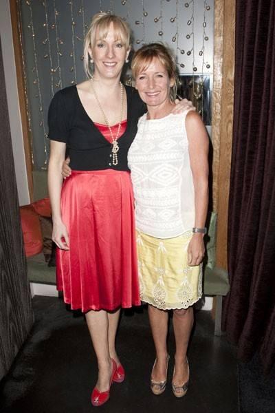 Fiona Laird and Caroline Langrishe