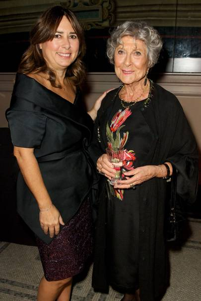 Alexandra Shulman and Joan Burnstein