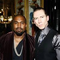Kanye West and Justin O'Shea