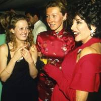 Victoria Sims, Josie Goodbody and Joan Collins
