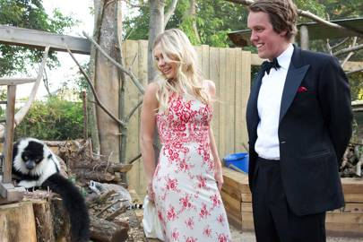 Chelsy Davy and Michael Walker