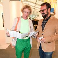 Grayson Perry and Evgeny Lebedev