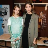 Greta Bellamacina and Sabrina Percy