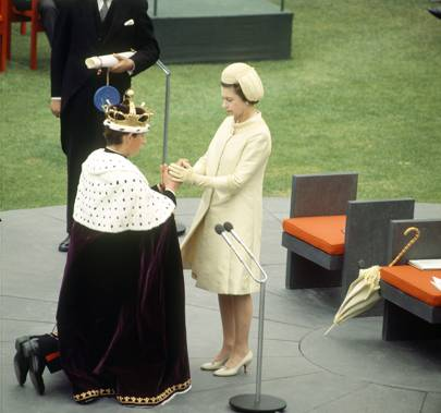 Prince Charles's 1969 Investiture Ceremony