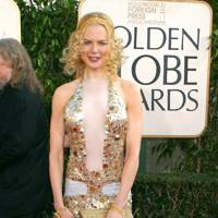 Wearing Saint Laurent at the Golden Globes, 2004