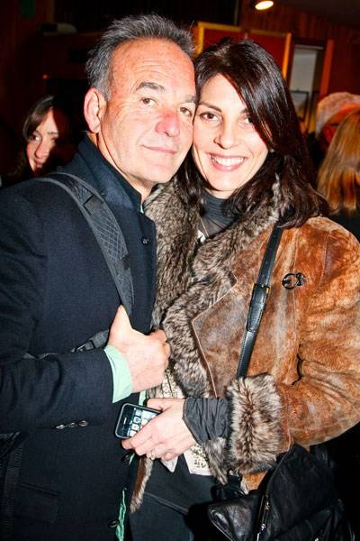 Nick Broomfield and Gina Bellman