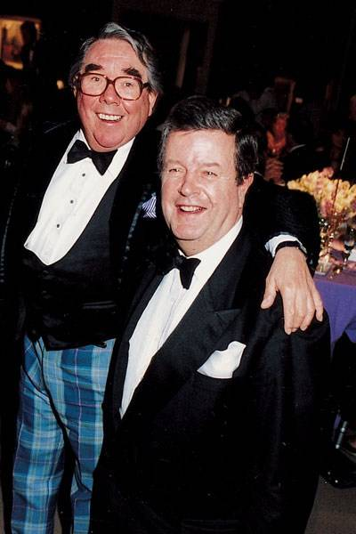 Ronnie Corbett and Lord Charles Spencer-Churchill
