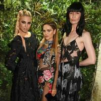 Amber Le Bon, Maria Hatzistefanis and Erin O'Connor
