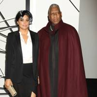 Andre Leon Talley and Rachel Roy