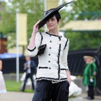 Erin O'Connor, Royal Ascot, 2009