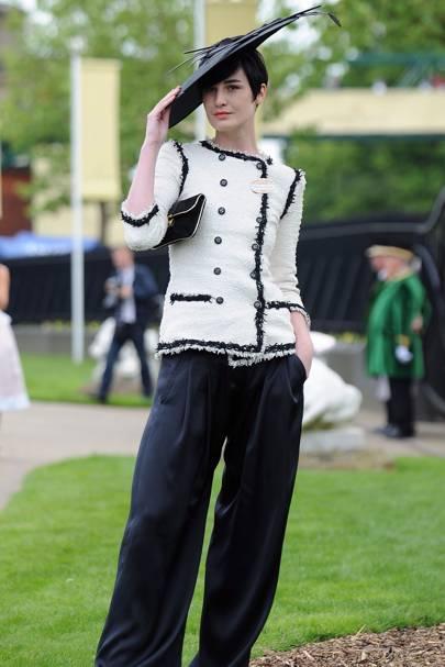 Erin O'Connor, Royal Ascot, 2009
