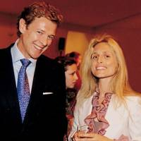 James Ogilvy and Mrs Pia Getty