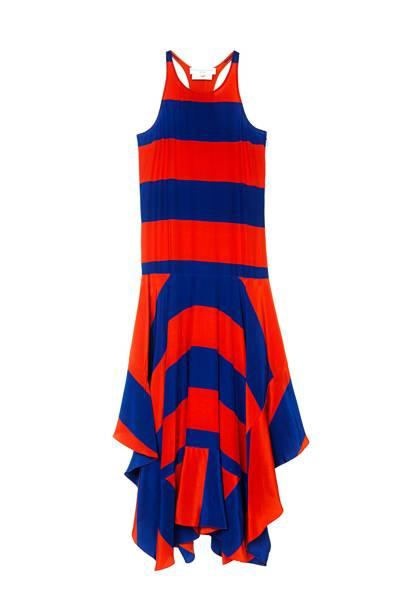 Silk dress, £1,290, by Stella McCartney