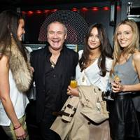 Stephanie Smart, Damien Hirst, Roxie Nafousi and Alexandra Bayley