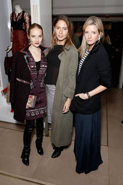 Petra Palumbo,  Jemima Jones and Lucy Carr-Ellison