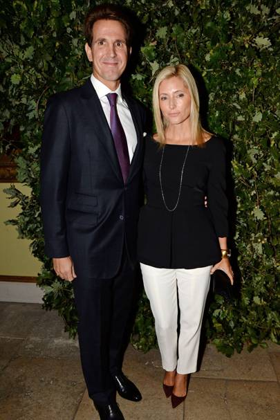 Crown Prince Pavlos of Greece and Crown Princess Marie Chantal of Greece