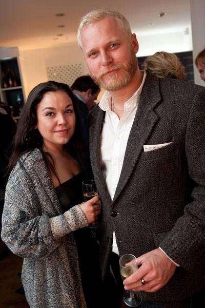 Lauren Lane and Teddy Mitchell