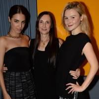 Amber Le Bon, Grazia Malagoli and Amber Atherton