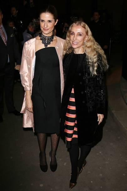 Livia Firth and Franca Sozzani