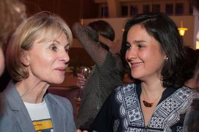 Kate Mosse and Kamila Shamsie