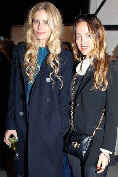 Laura Bailey and Alice Temperley