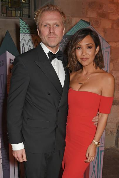 Simon Motson and Myleene Klass