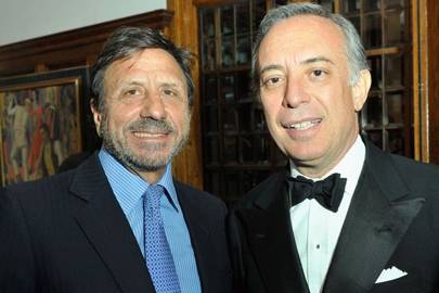 Sir Rocco Forte and His Excellency Pasquale Terracciano