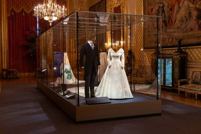 Princess Eugenie's wedding exhibition