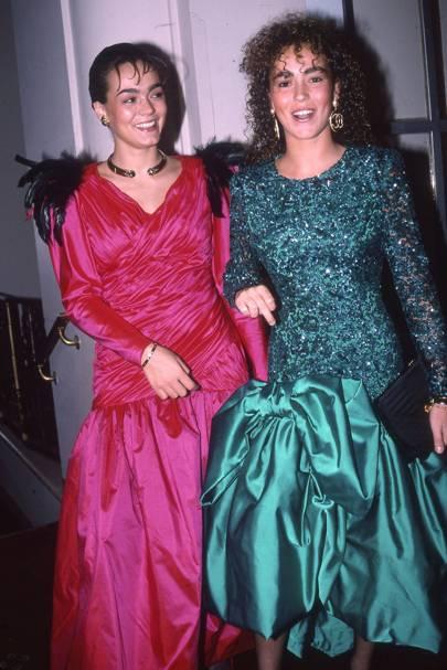 Sol Daurella and Eva Daurella