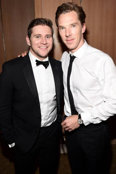 Allen Leech and Benedict Cumberbatch
