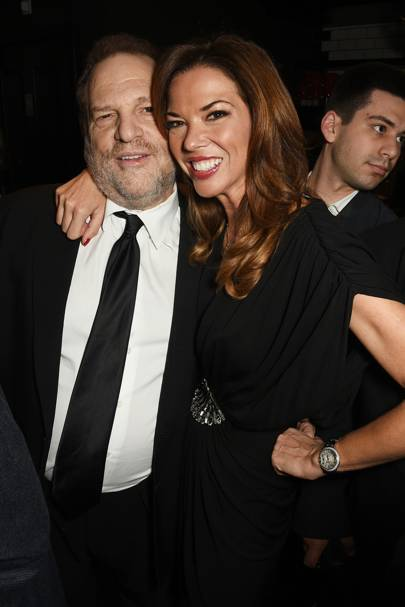 Harvey Weinstein and Heather Kerzner