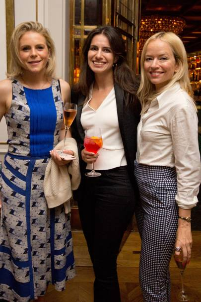 Sophie Markwick, Jennifer George and Clare Bennett