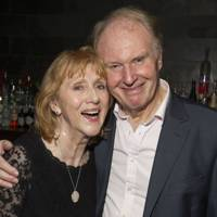 Pamela Miles and Tim Pigott-Smith