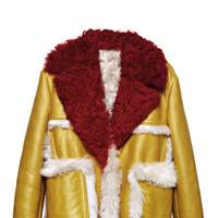 Leather and sheepskin coat, POA, by Prada