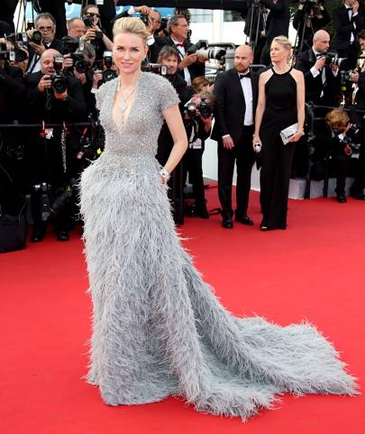 Naomi Watts wearing Armani Prive in 2015