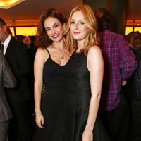 Lily James and Laura Carmichael