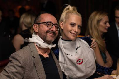 Gianluca Longo and Poppy Delevingne
