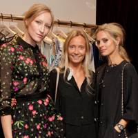 Jade Parfitt, Martha Ward and Laura Bailey