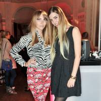 Becky Tong and Amber Le Bon