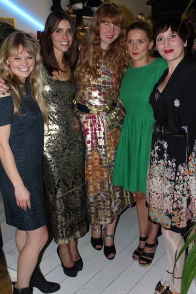 Serena Whitefield, Karen Clarkson, Oxana Korsun, Rose Lloyd Owen and Rosie Meres