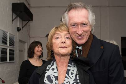 Dame Gillian Lynne and Peter Land