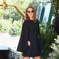 Natalie Portman arriving at the festival