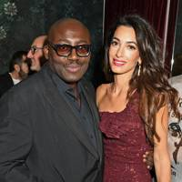 Edward Enninful and Amal Clooney