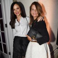 Georgina Chapman and Natalie Massenet