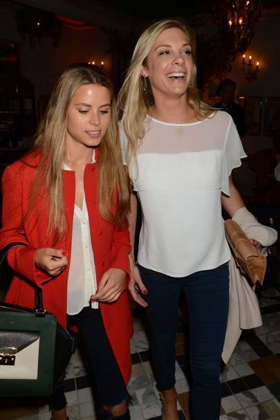Irene Forte and Chelsy Davy