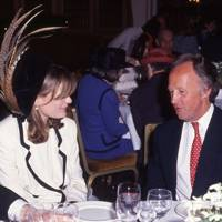 Mrs Andrew Gifford and John Spearman