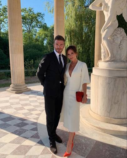 David and Victoria Beckham celebrated their 20th wedding anniversary at the Palace of Versailles