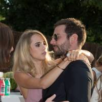 Suki Waterhouse and Bradley Cooper