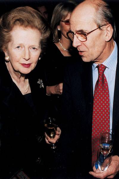 Lady Thatcher and Lord Tebbit