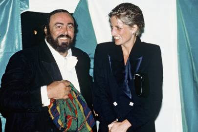 Pavarotti and the Royals